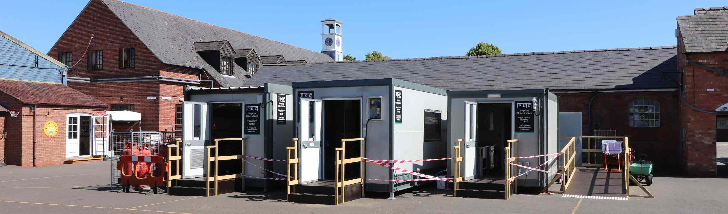 PKL Temporary Kitchens for Hire