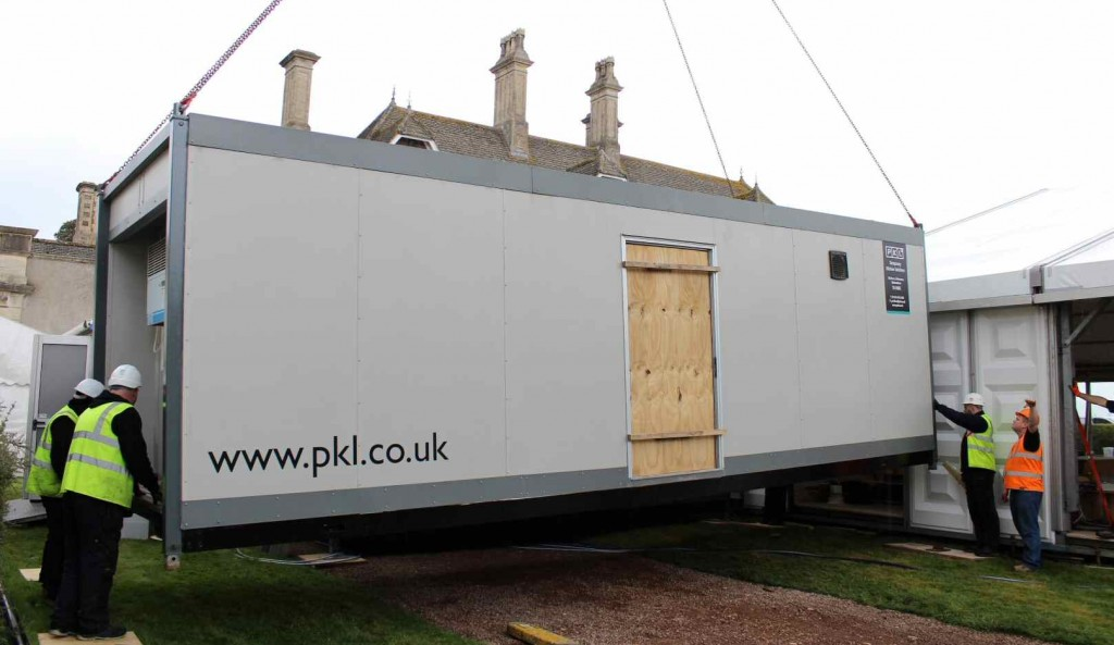 Temporary Kitchen Unit and Marquee