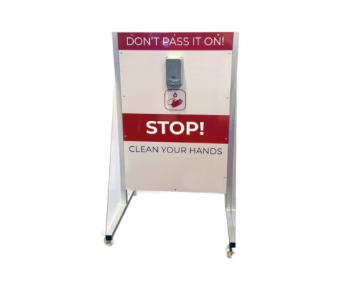 Small Hand Sanitiser Station for Hire