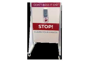 Small Hand Sanitiser Station