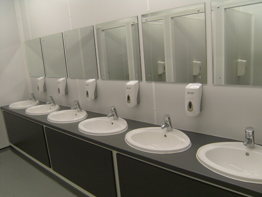 Large Scale Temporary Toilet